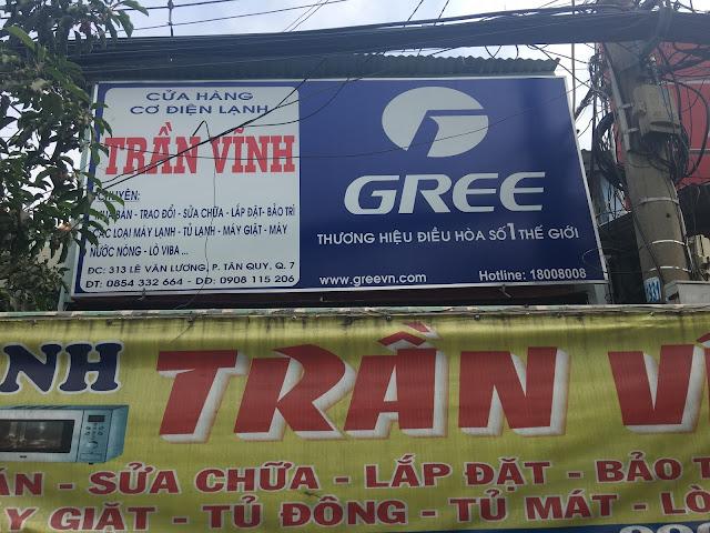 Cửa hàng cơ điện lạnh Trần Vĩnh - 313 Lê Văn Lương, P.Tân Quy, Quận 7
