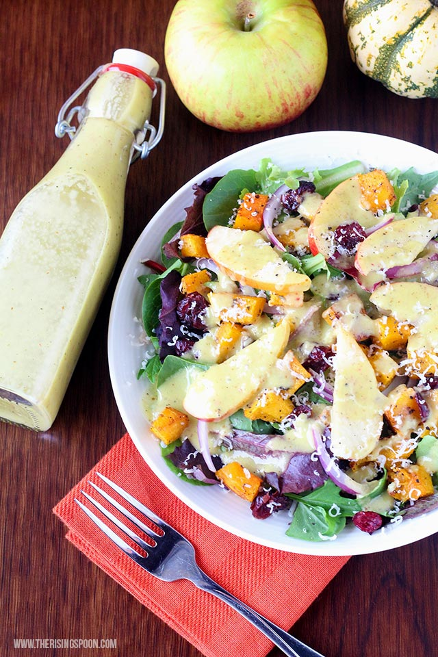 Apple Cider Vinaigrette Dressing (Two Ways)
