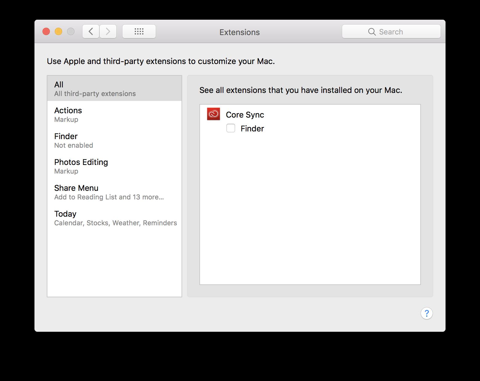 Come rimuovere tutti i servizi in background della suite di Adobe