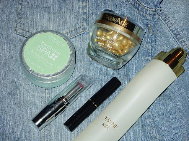Kolejnych pięć kosmetyków od Oriflame :)