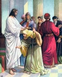 JESÚS LIBERA SANA A UNA MUJER ENCORVADA
