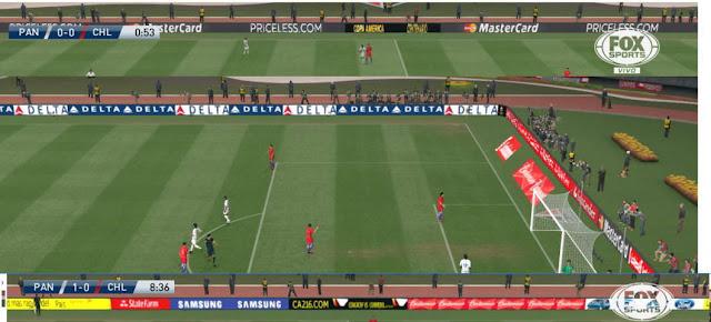 PES 2016 Copa America 2016 Adboard