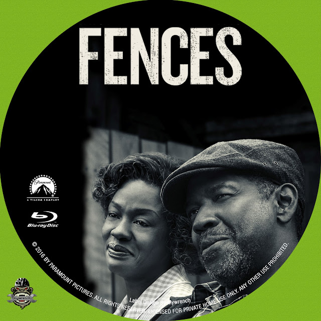 Fences Bluray Label