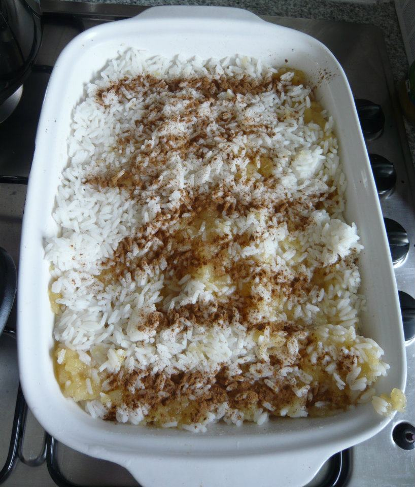 Rice with apples and cinnamon. Perfect lunch for kids! - Mila's Little ...