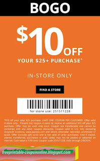 Free Printable Payless Shoes Coupons