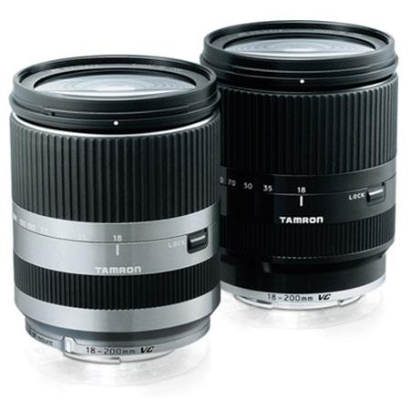 Tamron 18-200mm f/3.5-6.3 XR DI-III VC Macro for Canon EOS M - silver & black