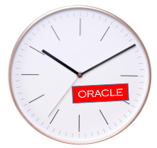 Current date and time in Oracle DB