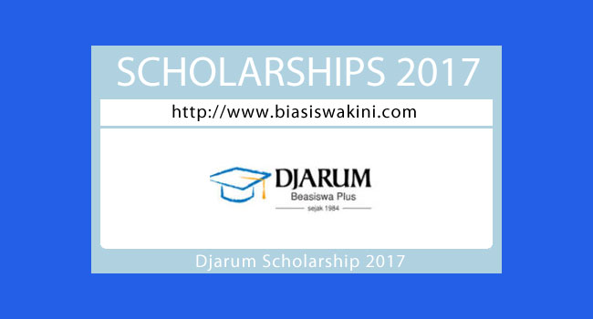 Djarum Scholarship 2017