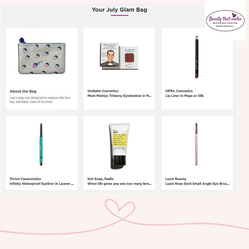 Ipsy Rant (July Glam bag) Ipsy Customer Care