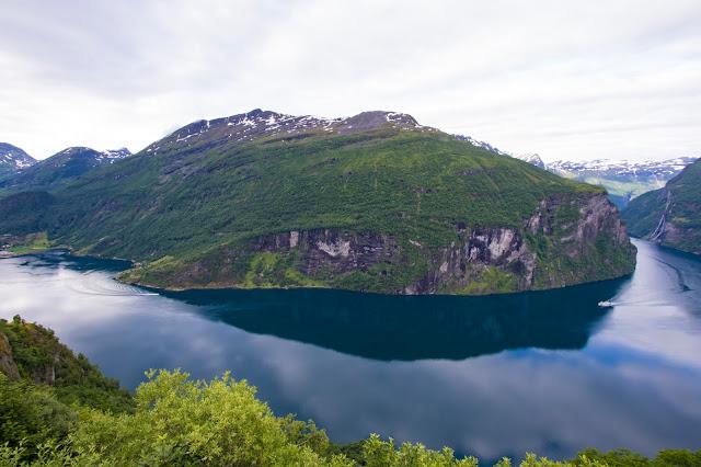 Ornesvingen-Punto panoramico sul Geirangefjord