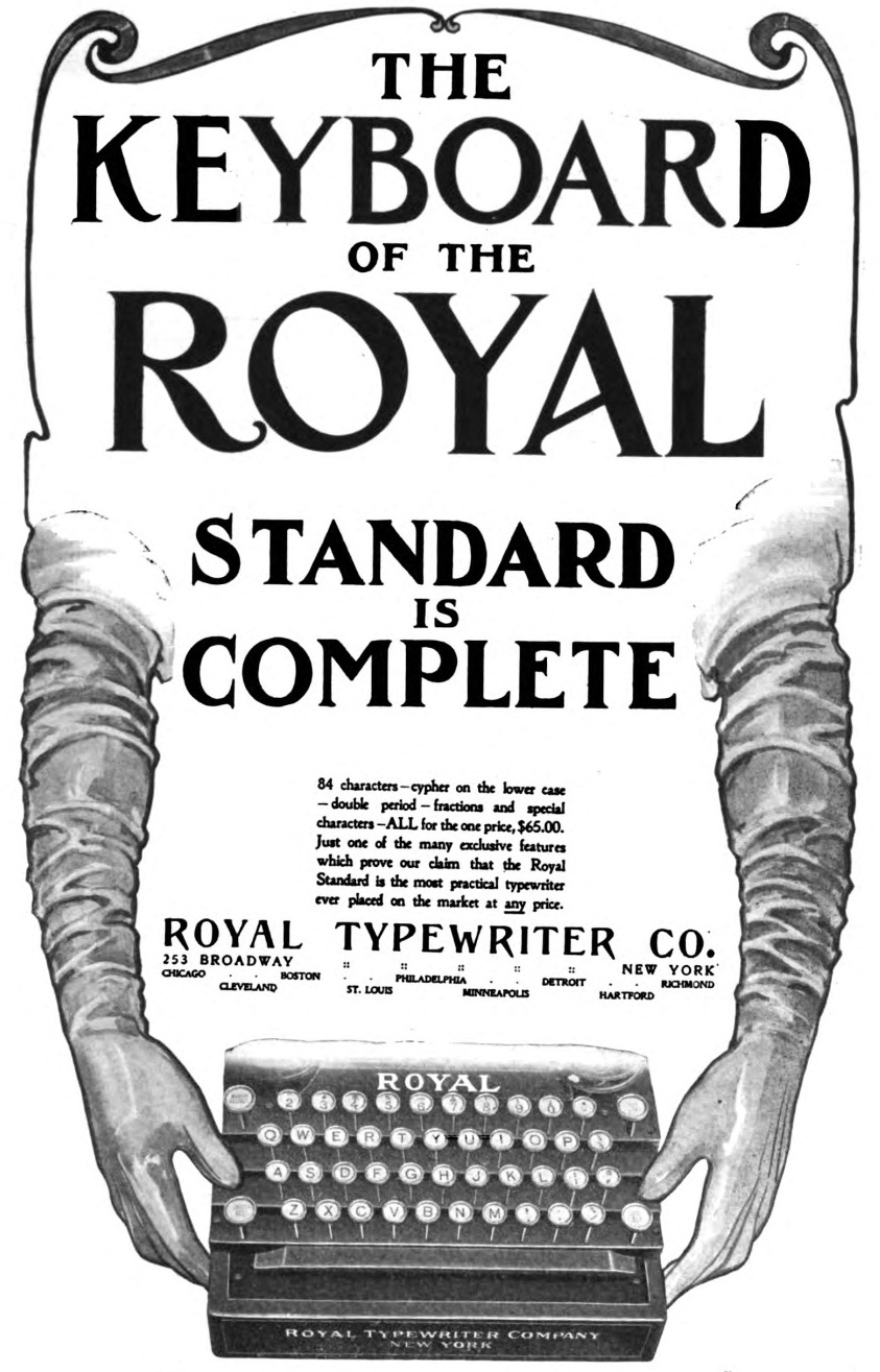 oz.Typewriter: One Year On: The Really Rapid Rise of Royal