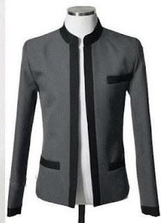 model blazer pria baru