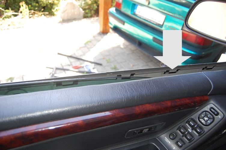 Patitchens Blog Fensterschachtleisten Jeep Grand Cherokee