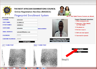 WAEC Biometric Fingerprint Enrollment Software Download & Installation Guide