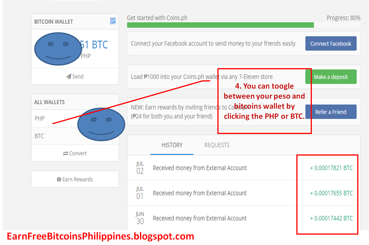 Do This By Clicking On The Btc And It Will Show You Your Current Bitcoin  Balance