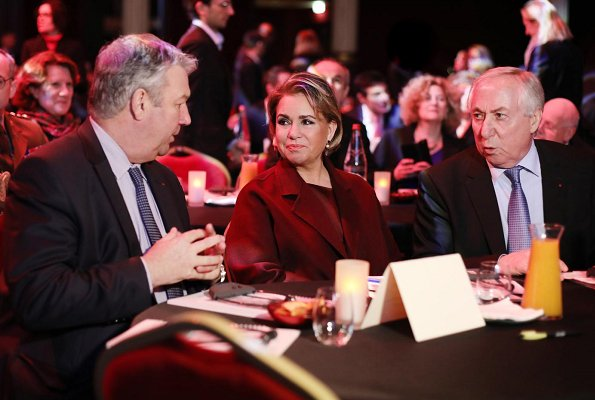 Grand Duchess Maria Teresa attended celebrations of 10th anniversary of Grameen Crédit Agricole Foundation with Prof. Yunus