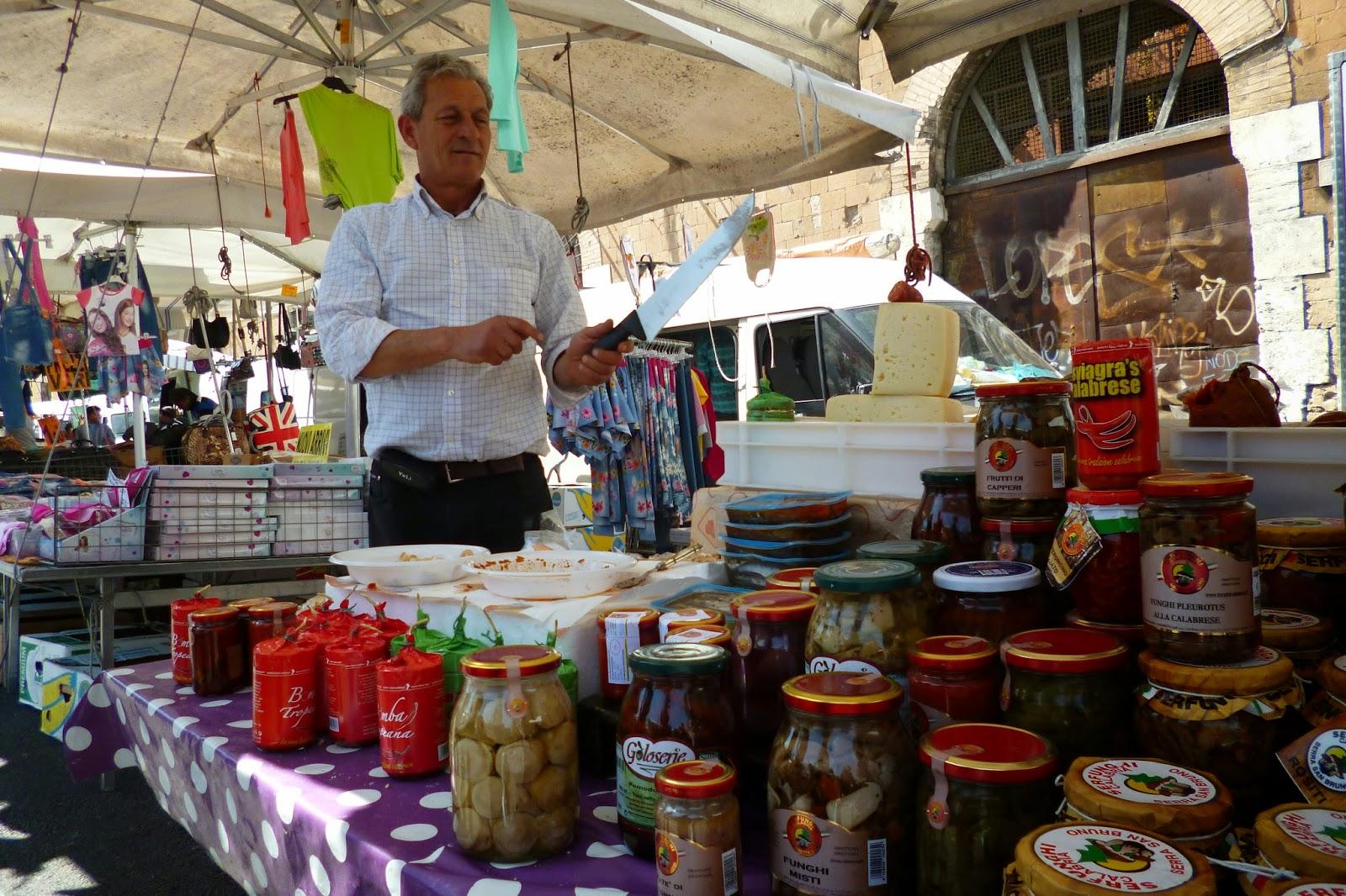 P1050297 - O mercado das pulgas de Roma: Porta Portese