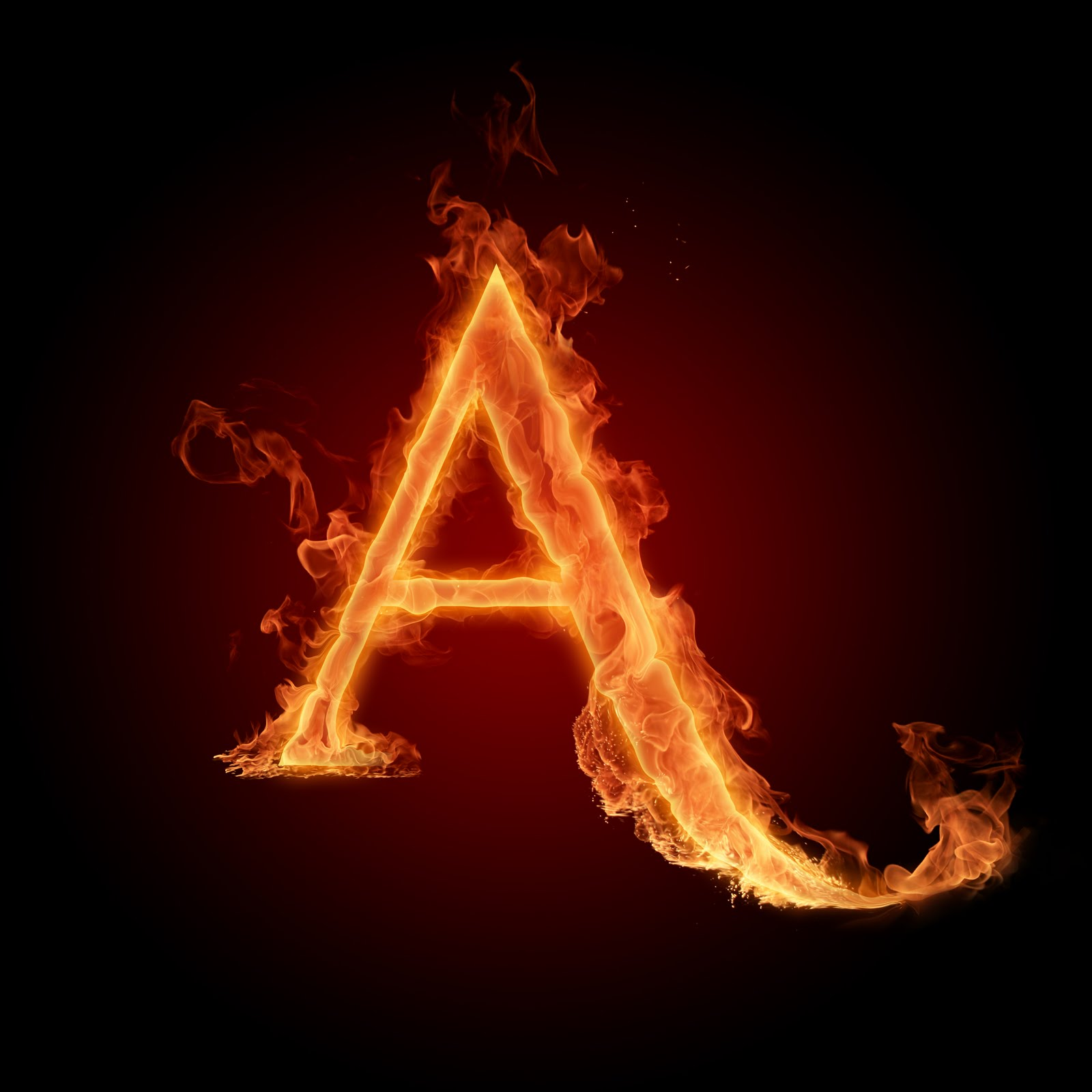 I Coolbestpics Fire Letters And Alphabets