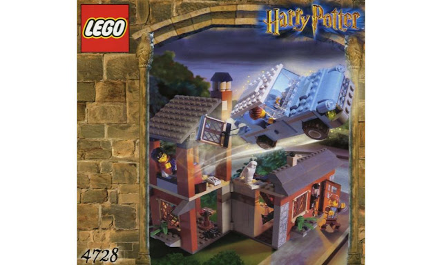 Lego 75950 - Harry Potter: Flying Ford Anglia with the Whomping Willow