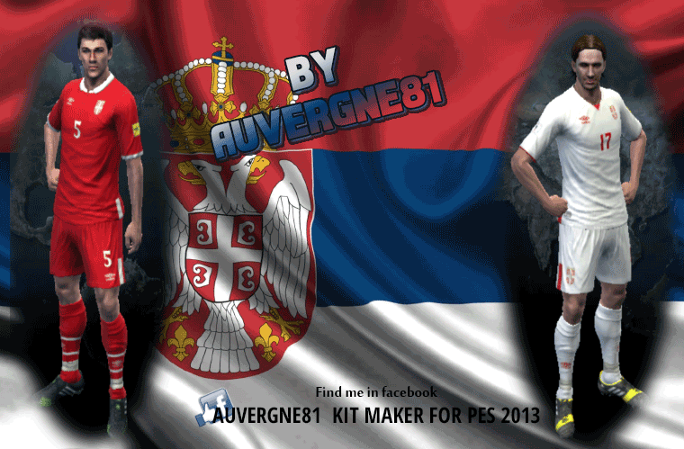 PES 2013 Serbia NT GDB 2017 by Auvergne81