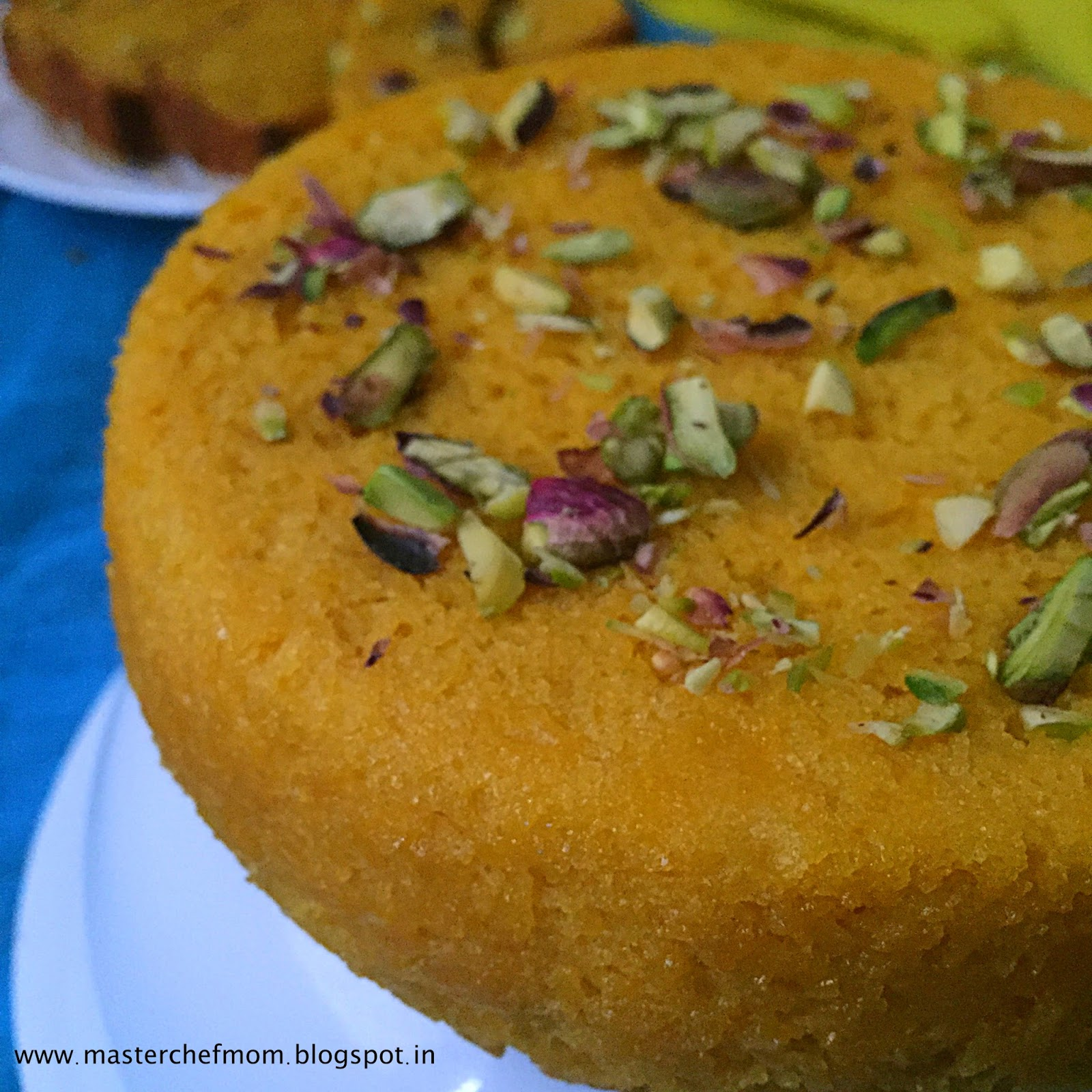 Mango Cake Recipe Without Butter