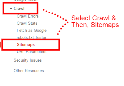Crawl and Sitemap
