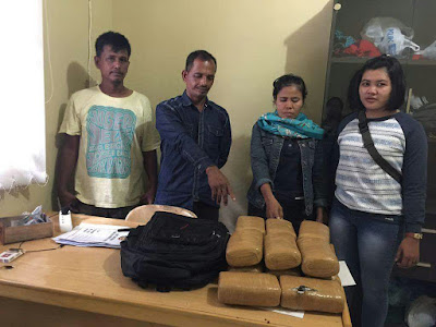 Polsek Medan Timur Amankan 14 Kg Ganja di Loket PT Makmur