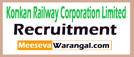 Konkan Railway Corporation Limited KRCL Recruitment