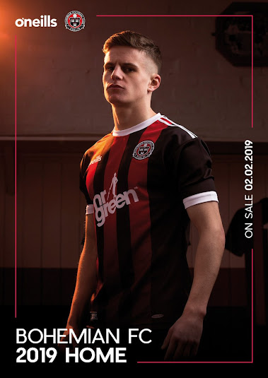 7ed388f78b8 Adidas Stripes? Clean Bohemian FC 2019 Home Kit Released - Footy ...