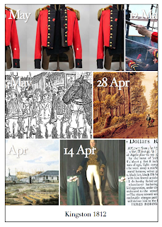 Screenshot of Kingston 1812 Blog