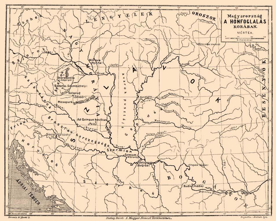 9.storočie, Veká Morava a Sloveni