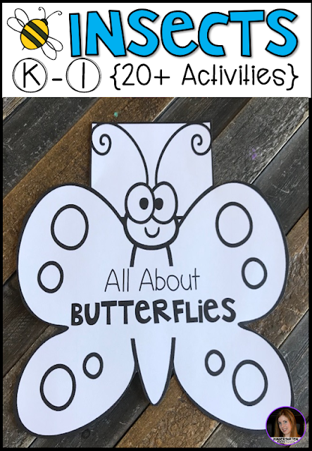 Are you looking for factual, fun and engaging insect activities for Kindergarten to introduce insects in your classroom?  Our insect unit is just what you need!