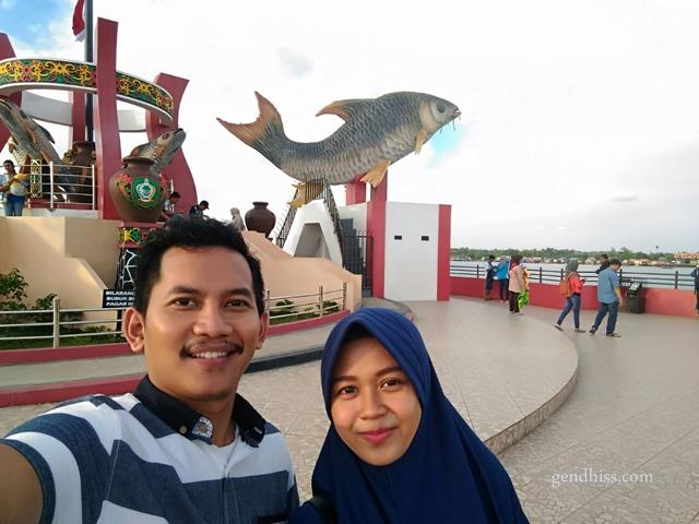 Patung Ikan Jelawat, ikon Kota Sampit