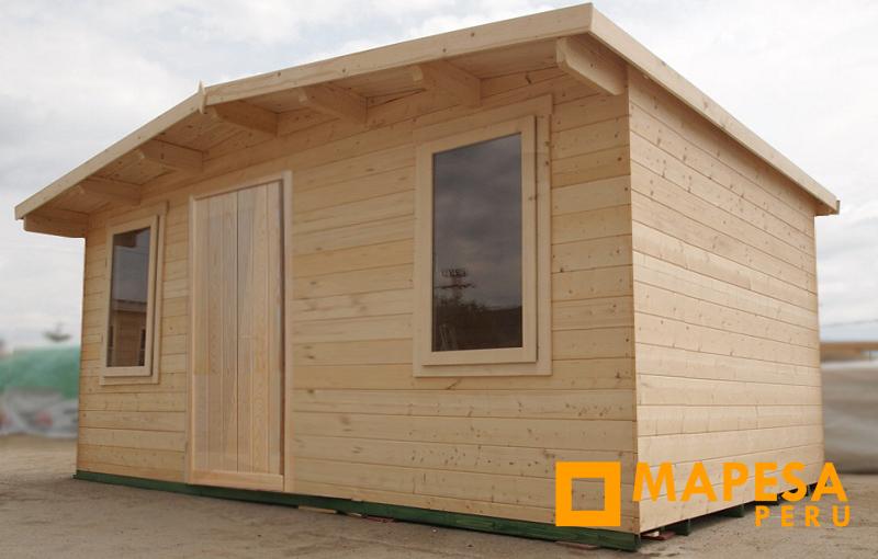 Mapesaperu casetas y m dulos prefabricados campamentos - Prefabricados de madera ...