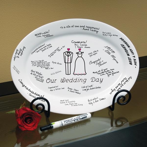 dicas-criativas-de-livro-de-assinaturas-de-honra-e-visita-de-prato-de-porcelana-7