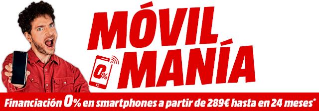 Top 5 ofertas folleto Móvil Manía de Media Markt