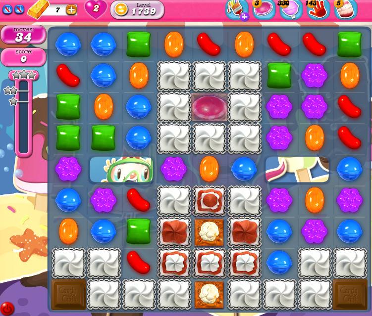 Candy Crush Saga 1739