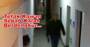 Thumbnail image for Lelaki Ini Tetak Kawan Kerana Bengang Kawannya Lagi Kuat Berdengkur