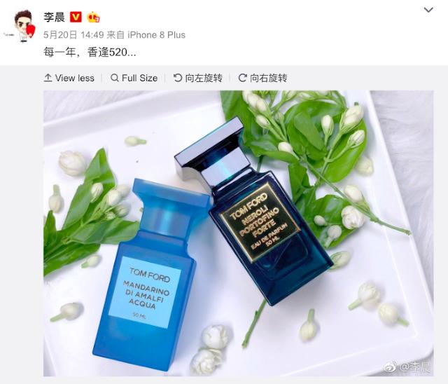 Fan Bingbing gift Li Chen 520