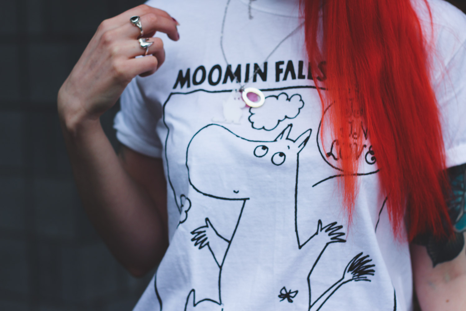 Alternative Fashion Blogger Foxxtailz Styles Moomin range for Truffle Shuffle