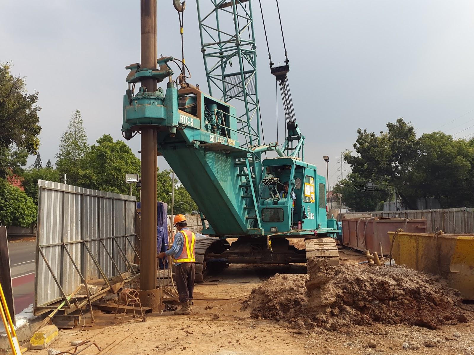 Jual Alat Berat Dan Rental Crawler Crane Vibro Hammer