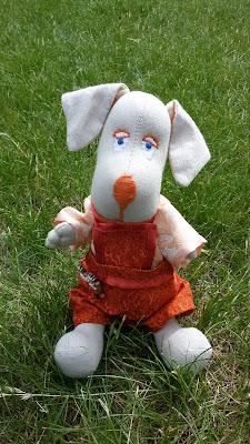 игрушки из ткани, мягкая игрушка своими руками, ручная работа, пес