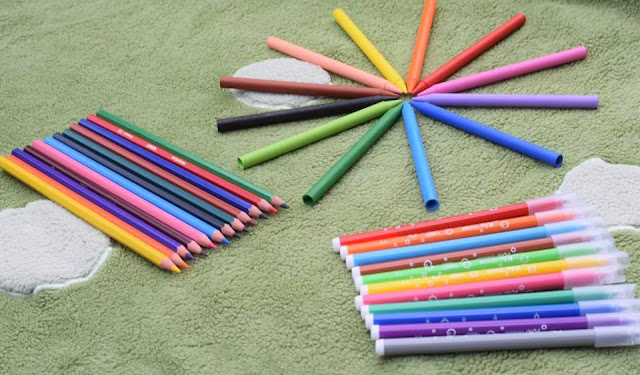 Colouring pens and pencils from BIC