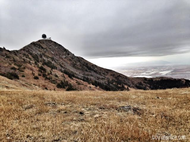 Hiking to Thurston Peak, Farmington,  Utah, Utah County High Point