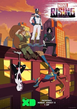 Marvel Rising - Initiation Legendado Desenhos Torrent Download capa