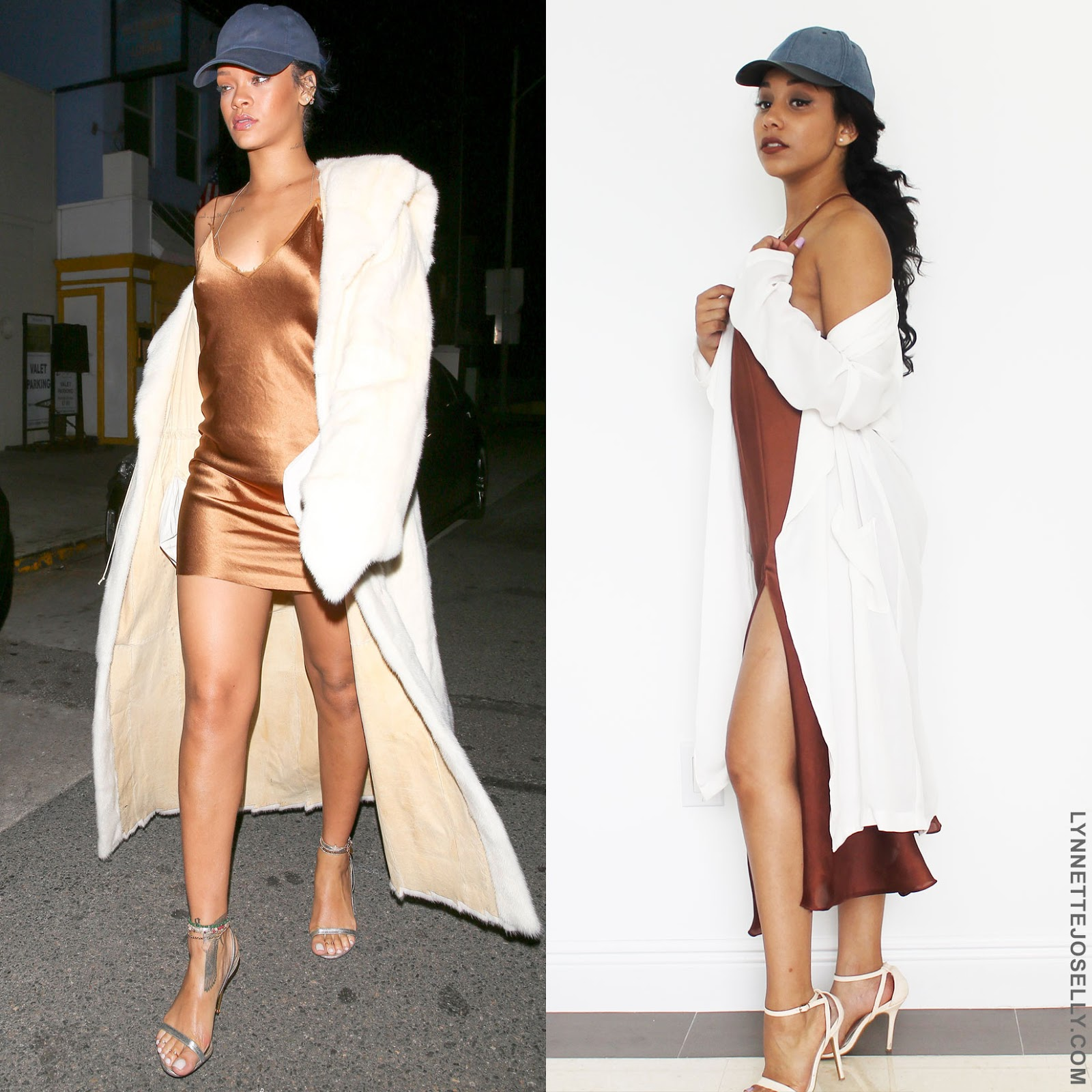 celebrity-inspired-outfit-rihanna-bronze-slip-dress