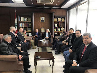 اللجنة الحقوقية الدولية بعد لقاء اللواء ملاّك: إسرائيل تريد بناء جدار فصل مع قضم أراضٍ لبنانية