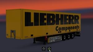 Schmitz S.KO Liebherr Trailer