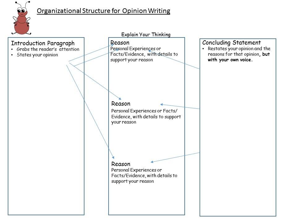 Organizational structure writing