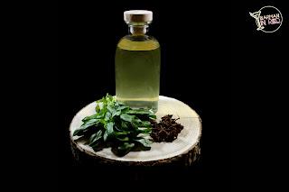 licor de albahaca casero
